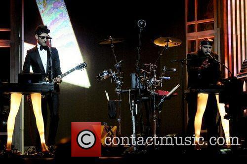 David Macklovitch and Patrick Gemayel of Chromeo...