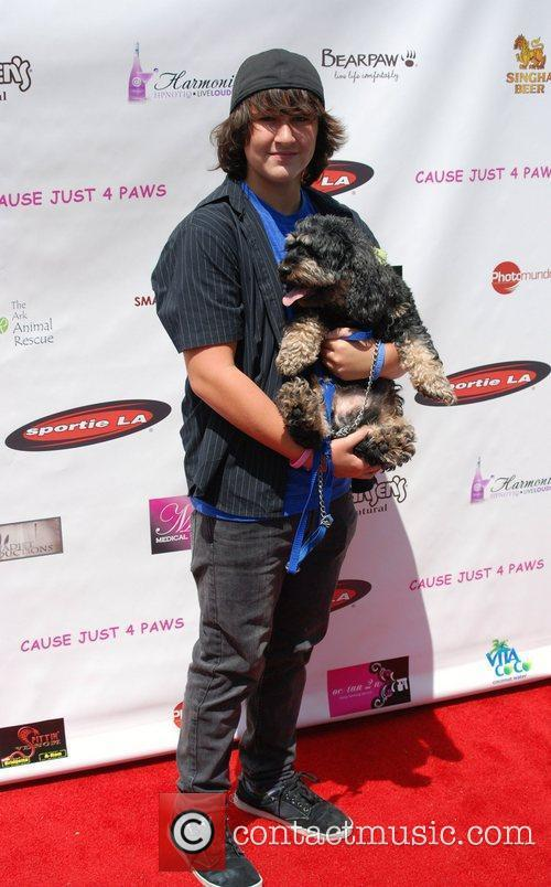 Noah Dahl  Just 4 Paws charity fundraiser...