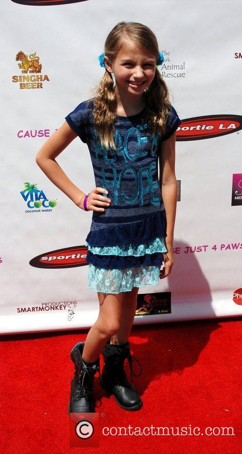 Sophia Strauss  Just 4 Paws charity fundraiser...