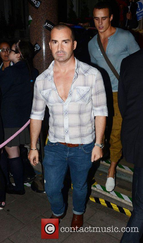 Louie Spence celebrities outside the 'Just Dance 3'...