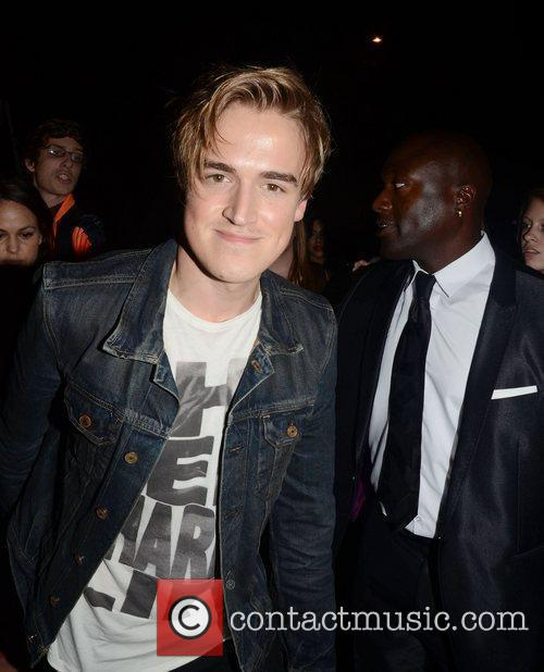 Tom Fletcher  celebrities outside the 'Just Dance...