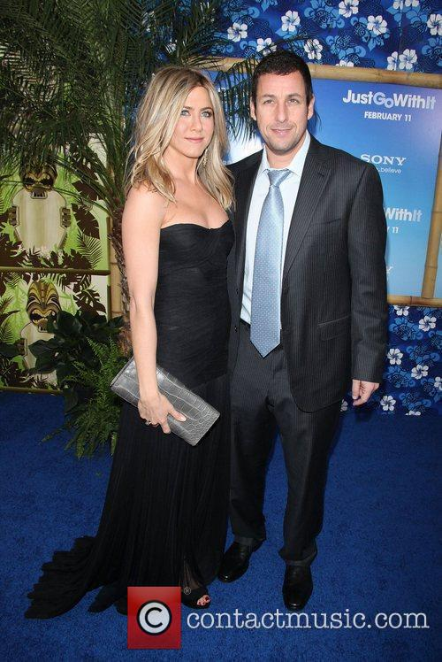 Jennifer Aniston, Adam Sandler, Ziegfeld Theatre
