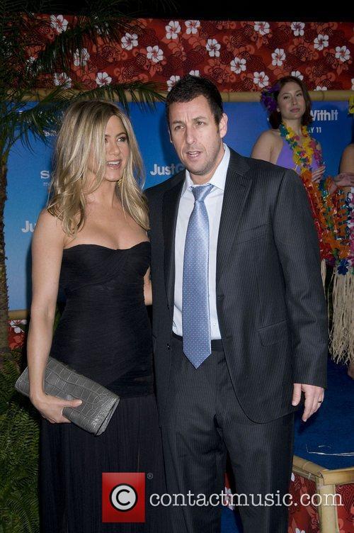 Adam Sandler and Jennifer Aniston 2