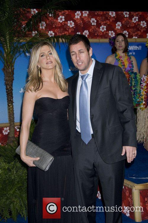 Adam Sandler and Jennifer Aniston 4