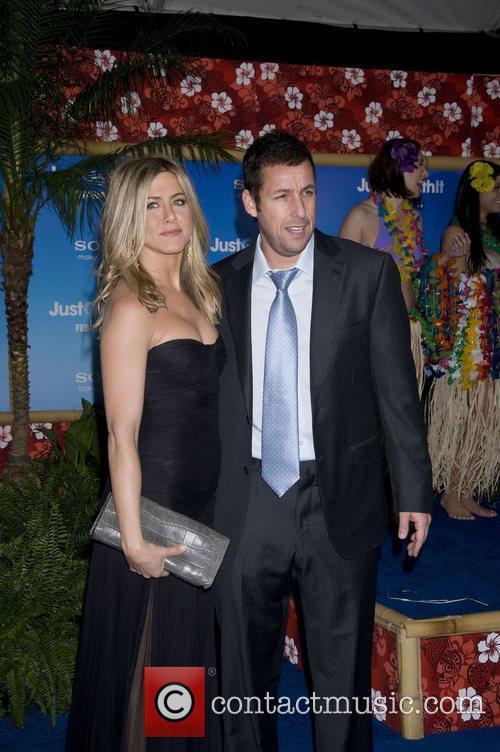 Adam Sandler and Jennifer Aniston 1