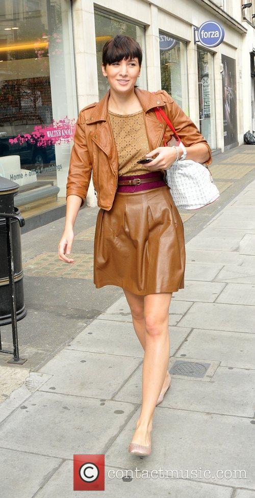 Juste Juozapaityte The 'Britains Next Top Model' finalist...