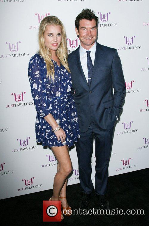 Rebecca Romijn and Jerry O'Connell Jessica Paster Celebrates...