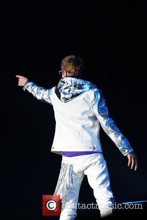 Justin Bieber  performing at the NIA Birmingham...