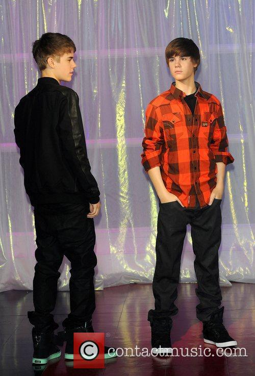 Justin Bieber waxwork unveiling held at Madame Tussauds....