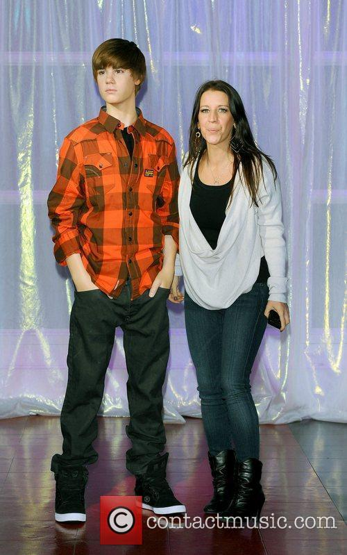Justin Biebera and his mother, Patty Lynn Mallette...