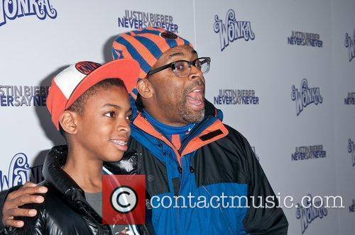 Jackson Lee, Spike Lee The New York Premiere...