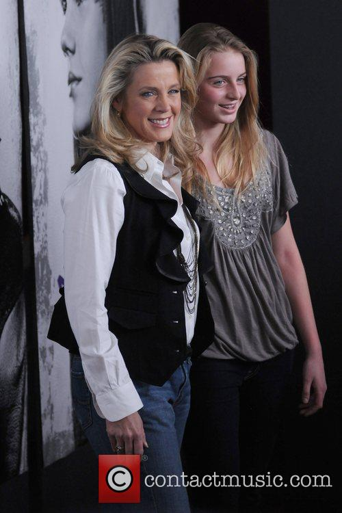 Deborah Norville and daughter The New York Premiere...