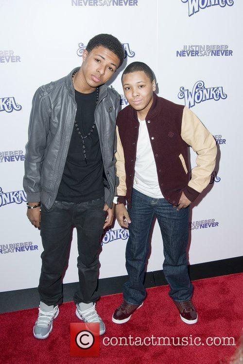 Russell and Daniel Simmons The New York Premiere...