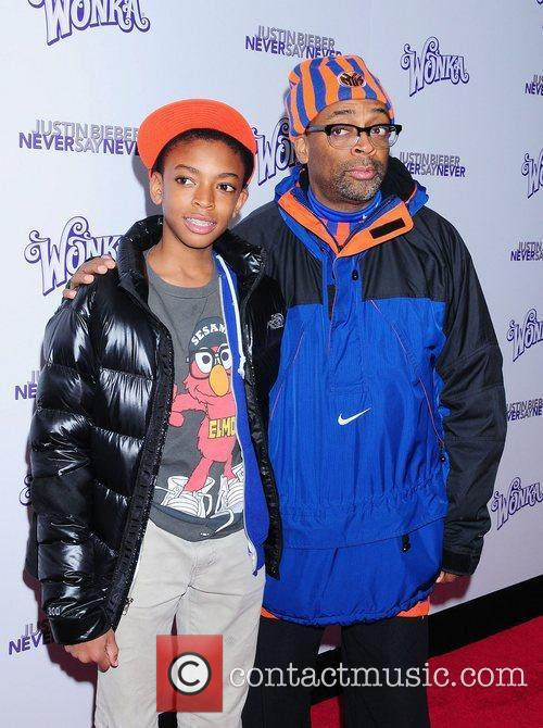 Spike Lee and son Jackson Lee The New...