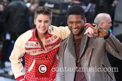 Justin Bieber and Usher 11