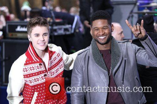 Justin Bieber, Usher Raymond