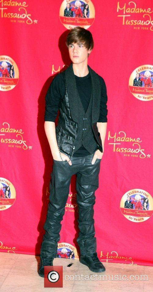 Justin Bieber's wax figure is unveiled at Madame...