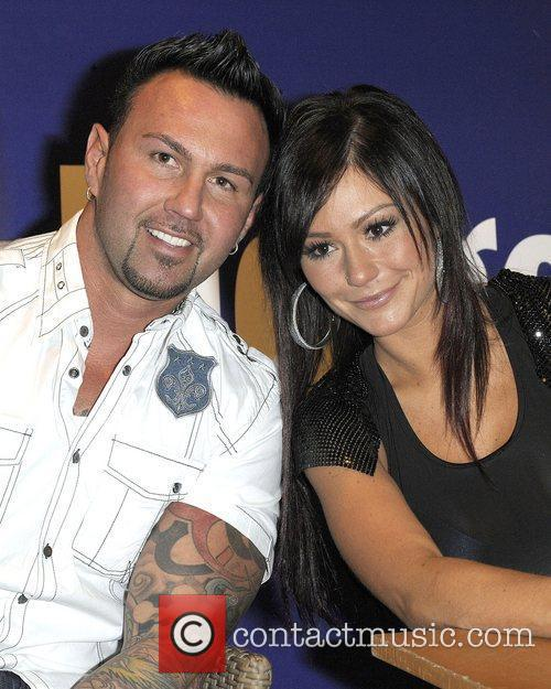 Roger Williams and Jenni 'JWoww' Farley at a...