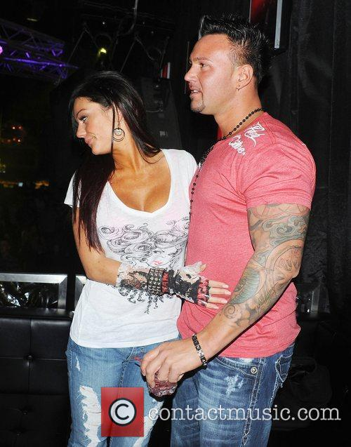 Jenny 'Jwoww' Farley from Jersey Shore and Roger...