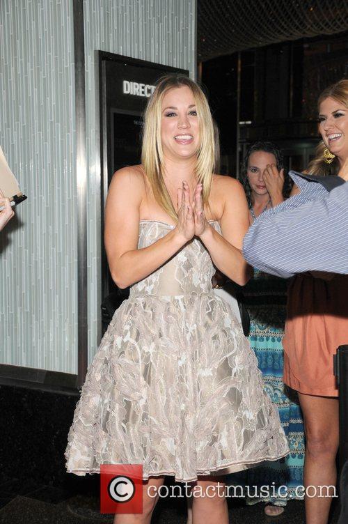 Kaley Cuoco hosts Vegas Magazine's Fall Fashion issue...