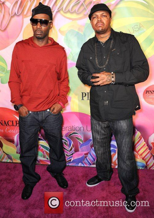 Juicy J and DJ Paul of Three 6...