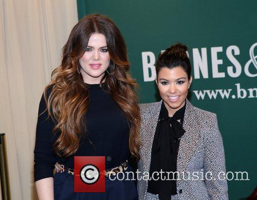 Khloe Kardashian and Kourtney Kardashian 12