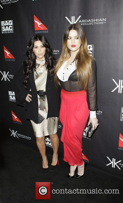 Kim Kardashian and Khloe Kardashian 10