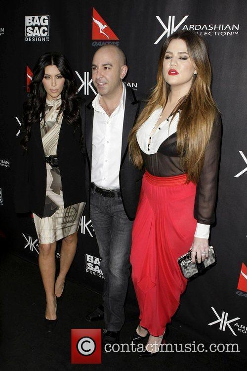 Kim Kardashian, Bruno Schiavi and Khloe Kardashian Kim...