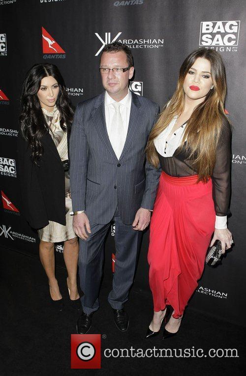 Kim Kardashian and Khloe Kardashian 1