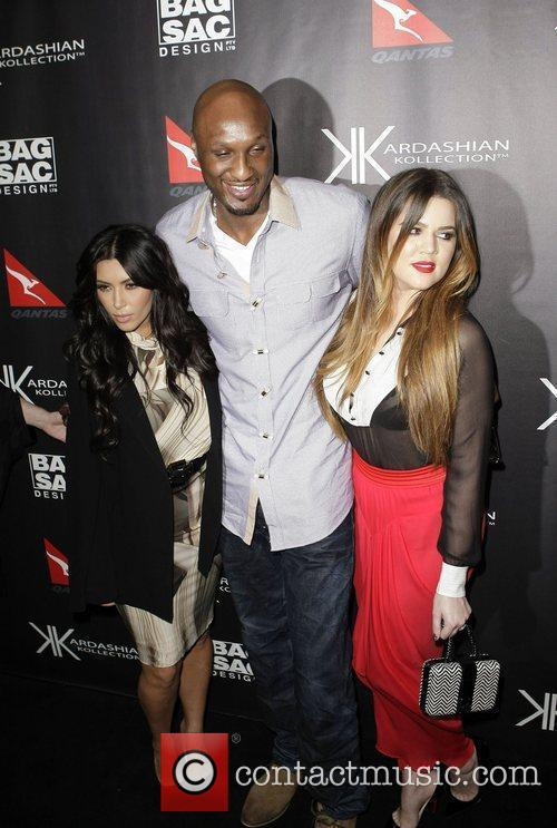 Kim Kardashian, Khloe Kardashian, Lamar Odom