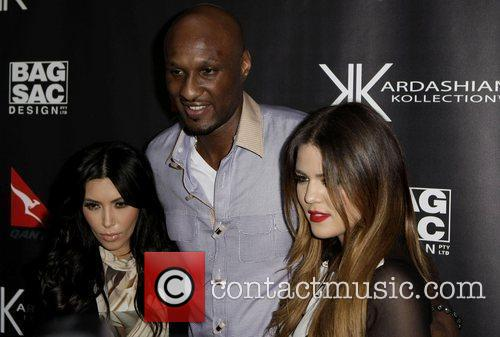 The launch of Kardashian Kollection handbags at Hugo's...