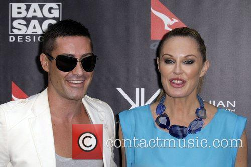 Adam Williams and Charlotte Dawson The launch of...