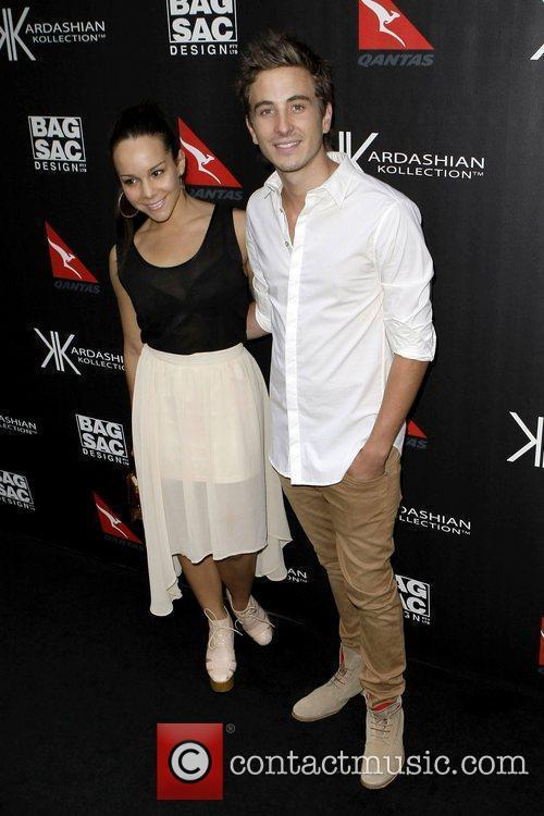 Ryan Corr and Dina Caplan The launch of...