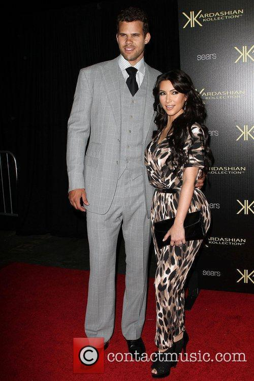 Kris Humphries and Kim Kardashian 2