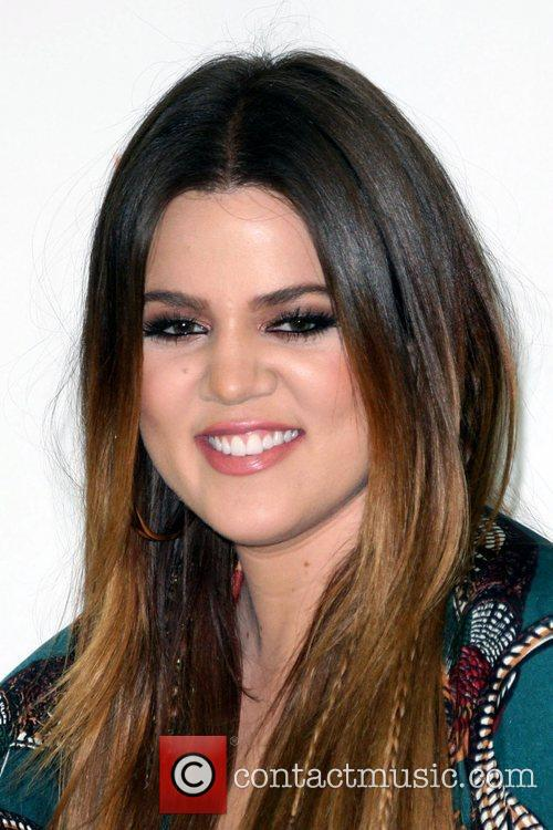 Kim and Khloe Kardashian conduct a meet-and-greet for...