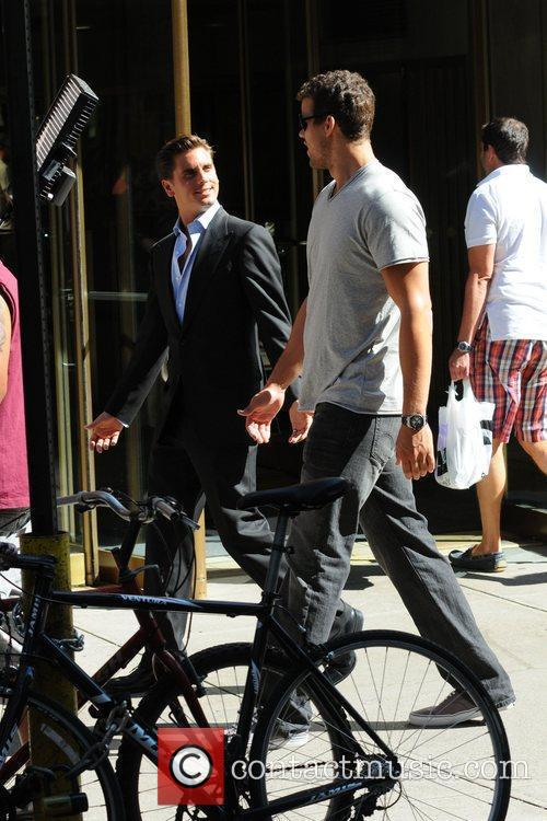 Scott Disick and Kris Humphries 2