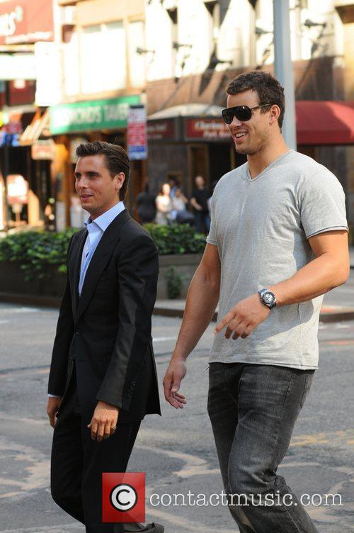 Scott Disick and Kris Humphries 24