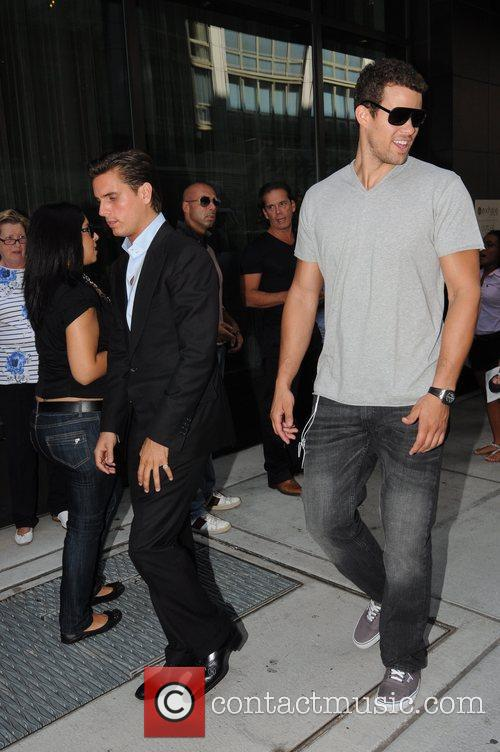 Scott Disick and Kris Humphries 12