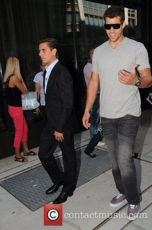 Scott Disick and Kris Humphries 15