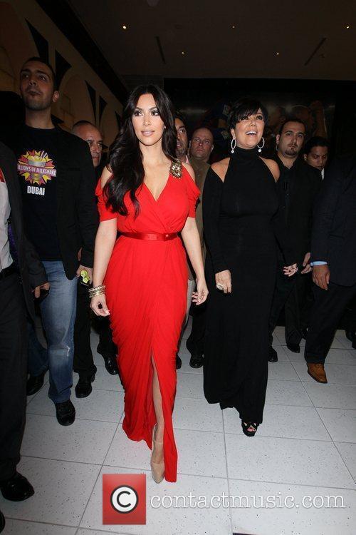 Kim Kardashian and kris jenner 11