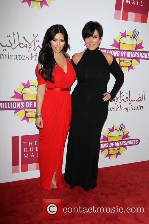 Kim Kardashian and kris jenner 14