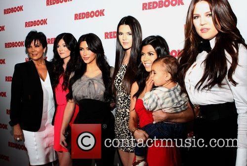 Kris Jenner, Khloe Kardashian, Kim Kardashian, Kourtney Kardashian and Kylie Jenner 2