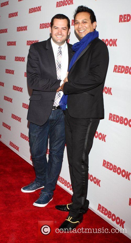 Ross Mathews and Salvador Camarena Redbook Magazine celebrates...