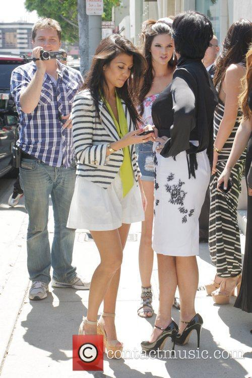 Kourtney Kardashian and Kris Jenner 9