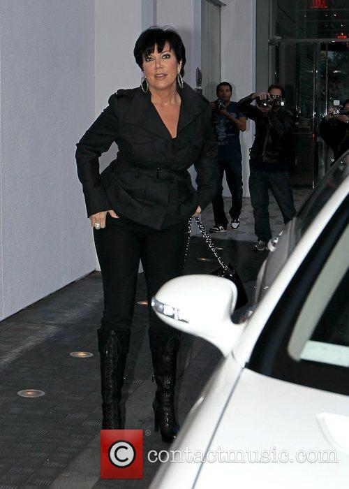 Kris Jenner filming for 'Keeping Up with the...