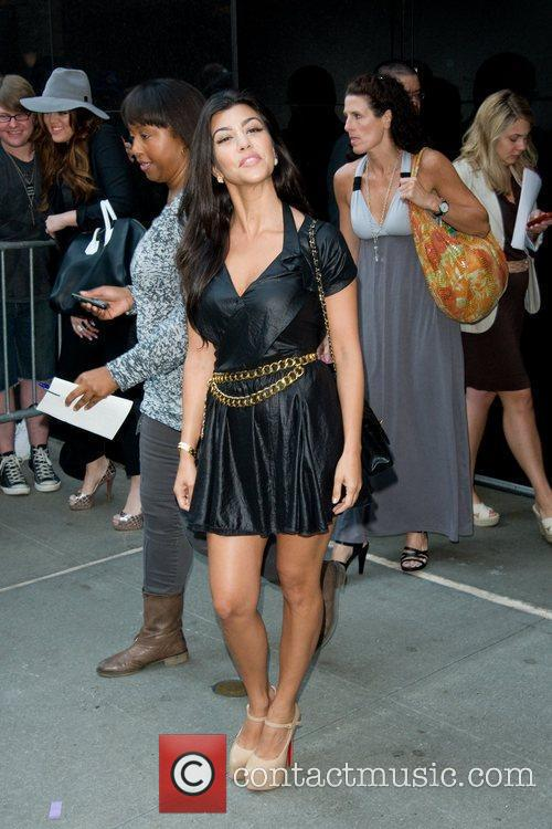 Kourtney Kardashian and Good Morning America 1