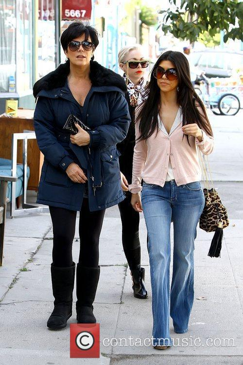 Kourtney Kardashian shopping for antiques in Studio City...