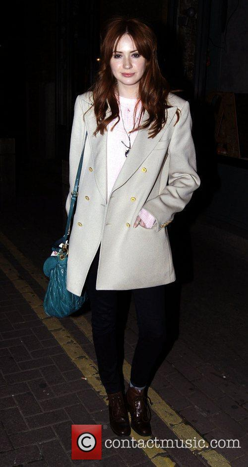 Karen Gillan out and about in Covent Garden....