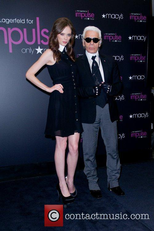 Coco Rocha and Karl Lagerfeld 5