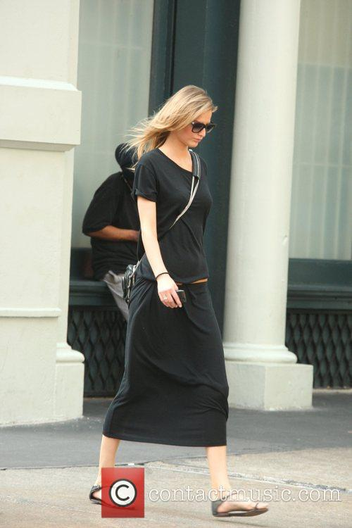 Supermodel Karolina Kurkova is seen out and about...